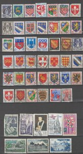 COLLECTION LOT # 03L FRANCE 80 STAMPS CLEARANCE