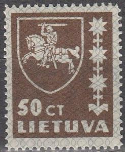 Lithuania #304 MNH