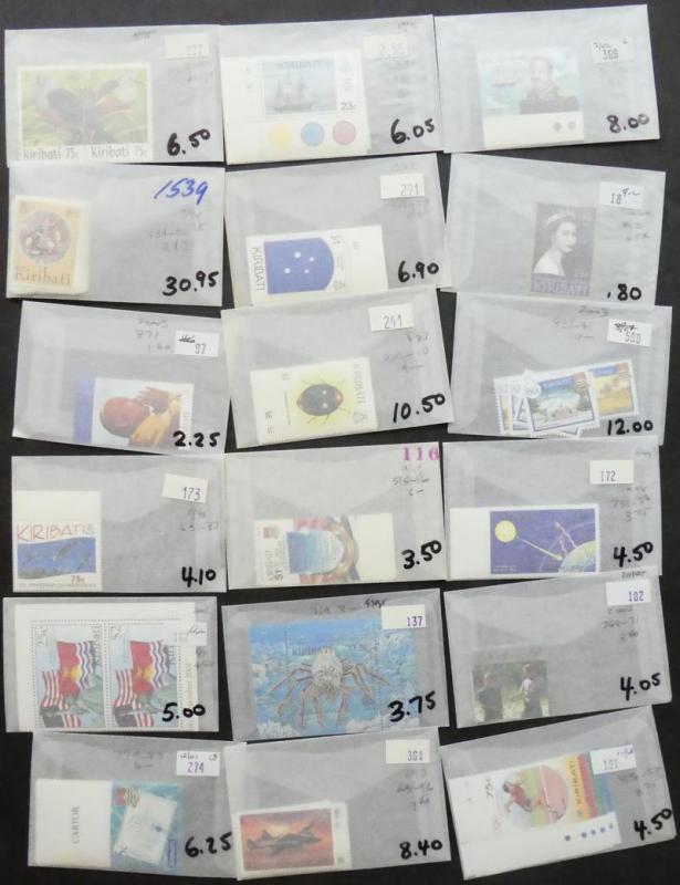 EDW1949SELL : KIRIBATI Beautiful collection of ALL DIFF VFMNH CPLT SETS Cat $985