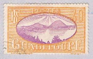 Guadeloupe 107 Used Saints Roadstead 1928 (BP3035)