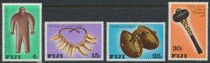 Fiji  SG 556 - 559  SC# 389 - 392 MNH  Artifacts    see scan