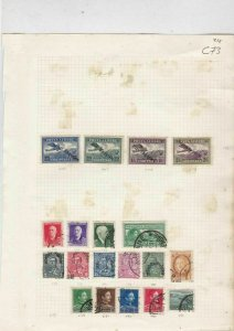 albania early stamp+overprints  ref 10532