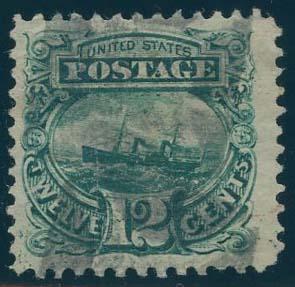 US Scott #117 Used, FVF