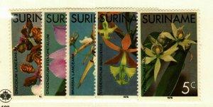 Suriname #427-31 MNH Orchids