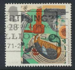 Great Britain SG 1768  Used  - Europa Art