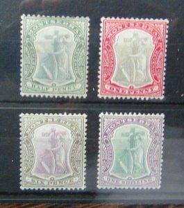 Montserrat 1903 values to 1s MM