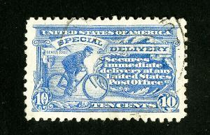 US Stamps # E10 Supurb Light Cancel Scott Value $50.00
