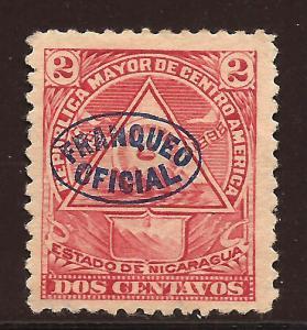 Nicaragua  # O - 119   Mint
