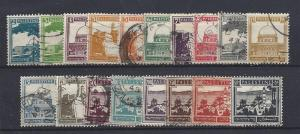 Palestine, 63//84 (18v), Various Designs Singles,**Used**