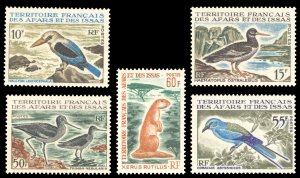 Afars and Issas 1967 Scott #310-314 Mint Never Hinged