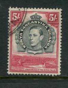 Kenya Uganda & Tanzania #83 Used