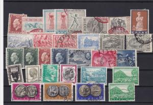 greece stamps ref 16337
