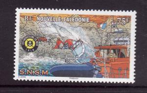 New Caledonia-Sc#1017-unused NH-Nat'l Sea Rescue Society-Shi