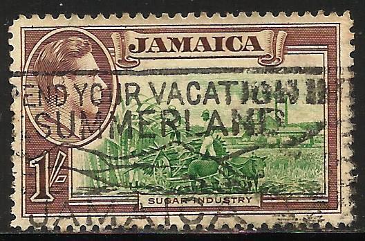 Jamaica 1938 Scott# 125 Used