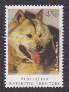 Australian Antarctic Territory # L90, Huskie Sled Dog, Used, 1/3 Cat.