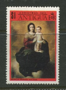 STAMP STATION PERTH Antigua #320 Christmas Issue MLH 1973 CV$0.40