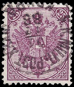 Bosnia & Herzegovina 1879 Sc 10 (type I) uvf