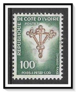 Ivory Coast #J37 Postage Due Used