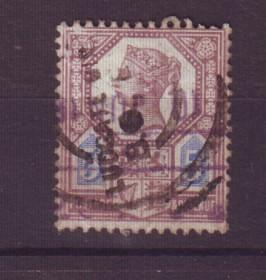 J19320 Jlstamps 1887 great britain used #118 queen