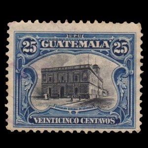 GUATEMALA STAMP 1911 SCOTT # 141. USED.