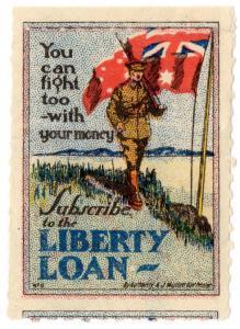 (I.B) Australia Cinderella : Liberty Loan (You Can Fight Too)