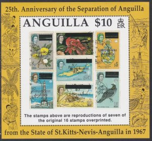 854 Independence Anniversary SS MNH