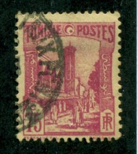 Tunisia 1928 #93 U SCV(2018)=$0.35