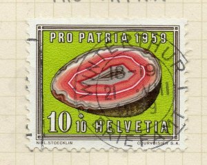 Switzerland 1959 Early Issue Fine Used 10c. NW-135732