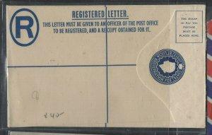 ST LUCIA COVER (P0405B)  QEII 8C RLE UNUSED