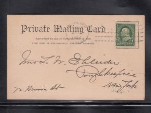 Phoenix AZ Territory Machine Cancel on Postcard 1902
