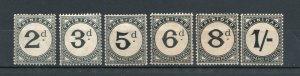 Trinidad - SG# D10 - D12 + D14 - D17 MH/ wmk crown CA  -  Lot 0120055
