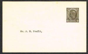 Canada Unitrade Postal Card UX69