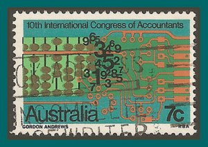 Australia 1972 Accountants, used  531,SG522