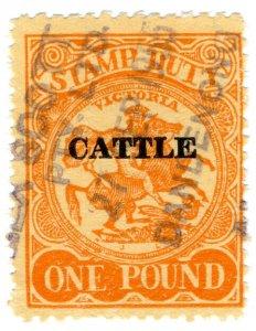 (I.B) Australia - Victoria Revenue : Cattle Duty £1