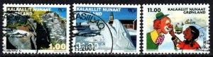 Greenland #394-6 F-VF Used CV $16.40 (X5555)