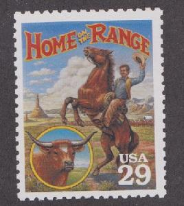 2869a Legends - Home on the Range F-VF MNH single