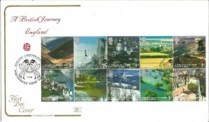 A British Journey England 2006 Cotswold Covers First Day Cover Special PM W113