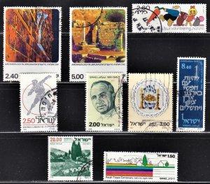 Israel Scott 613, 615, 621, 631, 634, 637, 672, 688, 697 F to VF used.
