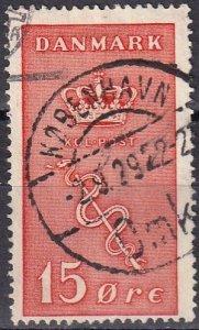 Denmark #B4  F-VF Used CV $12.00 (Z6300)