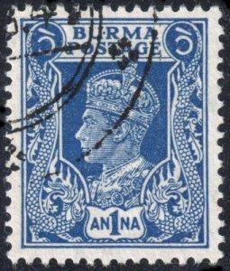 Burma - Scott 54 - Used