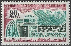 Mauritania  250  MNH  UNESCO Hydro Survey