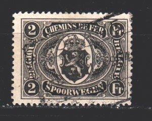 Belgium. 1921. 129. Railway mail. USED.