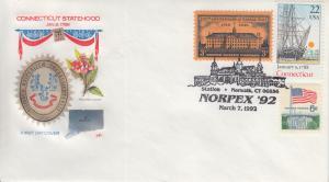 1992 Connecticut Norpex Norwalk  Pictorial Farnam