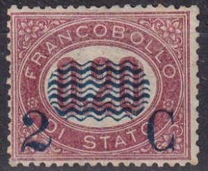 Italy #39 F-VF  Unused CV $800.00 (Z6093)