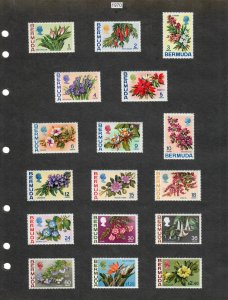 Bermuda Selection of 61 Stamps MH/MNH/Used (SCV $38.95) Starting at 5%