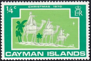 Cayman Islands # 277 mnh ~ 1/4¢ Christmas - Three Wise Men on Camels