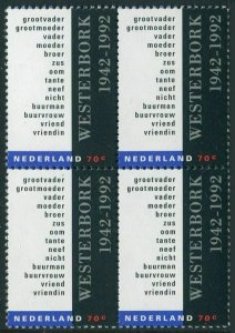 Netherlands 816 block/4,MNH.Mi 1445. Deportation Train from Westerbork,50,1992.