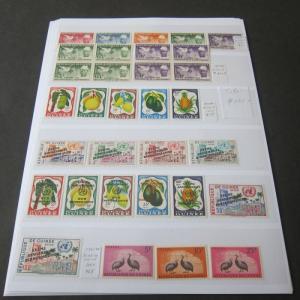 Guinea 1957-1965 sets all MNH (detail Pics on description)