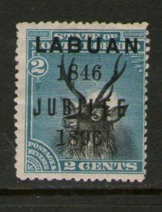 Malaya S. Setts. Labuan 1896 SG 84 MH