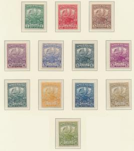 Newfoundland (Canada) Stamps Scott #115 To 126, Used - Free U.S. Shipping, Fr...